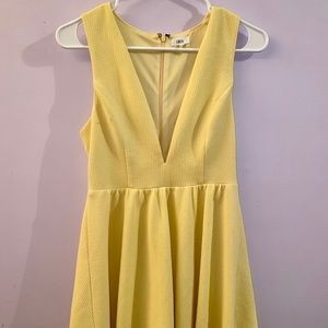 LUCCA Yellow dress
